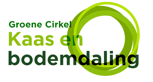 Logo Green Circle Cheese and Subsidence